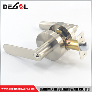 High quality fancy passage lever door lock popular stainless steel 201 German door lock