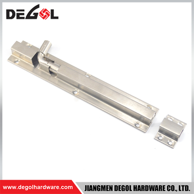 DB1028 Stainless Steel Brass Square Tower Bolt