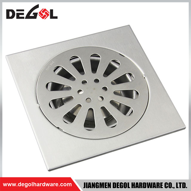 High Quality Kitchen Brass Floor Drain Cover