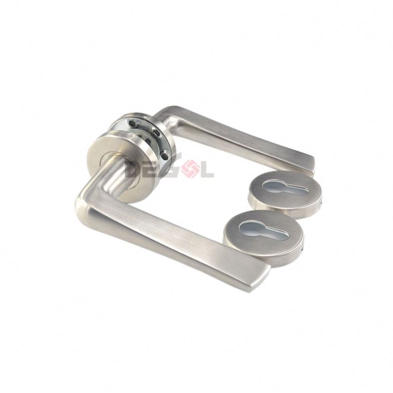 High-end stainless steel residential room security tube U shape china door lever handle