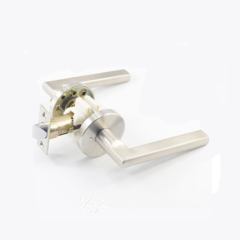 China Door Lock Solid Hotsale Fancy Manufacturers Hotel Keyless Bathroom Door Lock