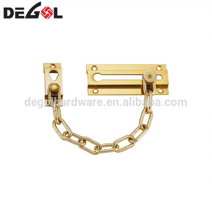 Security Door Chain Metal Locks Door Guards for Home Chain Door Stop