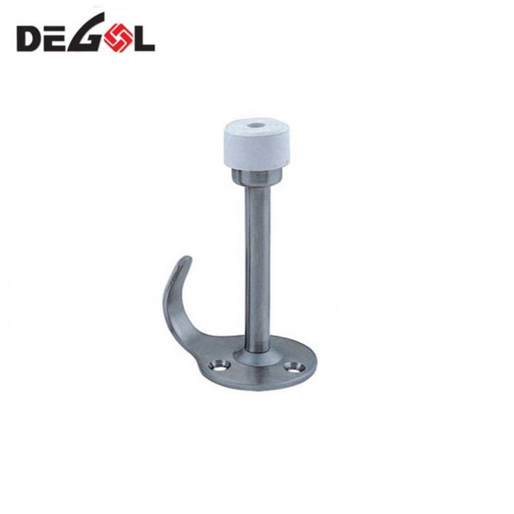 Top quality stainless steel high security decorative step door stopper ss