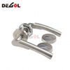 New design double sided stainless steel tube lever residential room ss 304 door handle