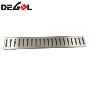 High Quality Silicone Garage Metal Stainless Steel Floor Drain Grate