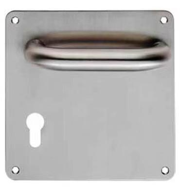 China Factory Entry From China Factory Supply Zinc Door Handle On Plate