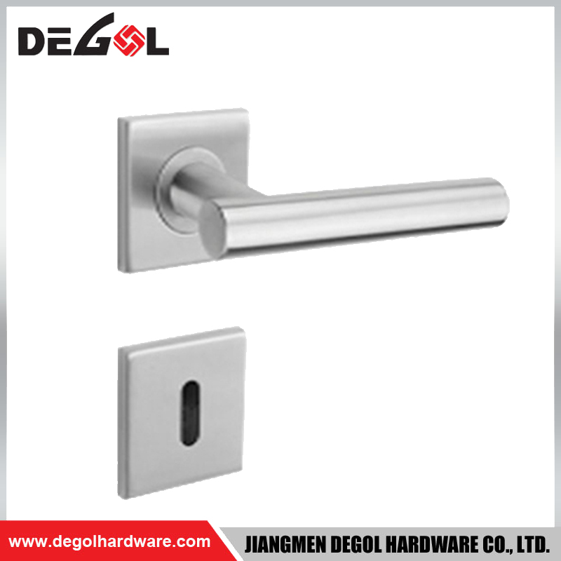 LH1119 Tubular Door Handle Lock Lever Set Lock