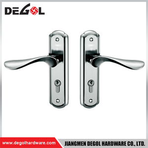 BP1004 Stainless Steel Heavy Duty Solid Lever Germany Door Handles on Plate