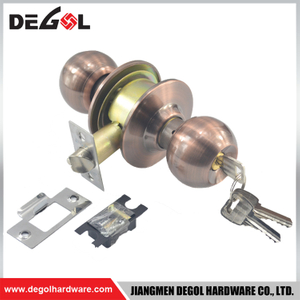 Bangladesh style China factory price modern style double sided cylindrical stainless steel door lock