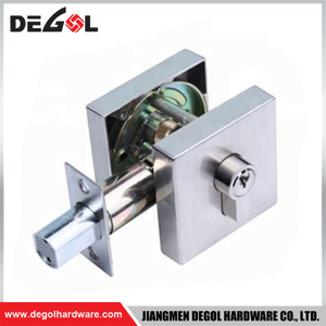 BDL1006 Zinc Alloy Square Deadbolt Door Lock