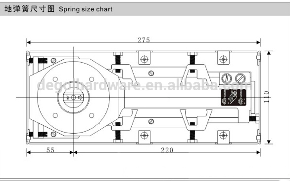80kgs glass door hydraulic floor springs price best