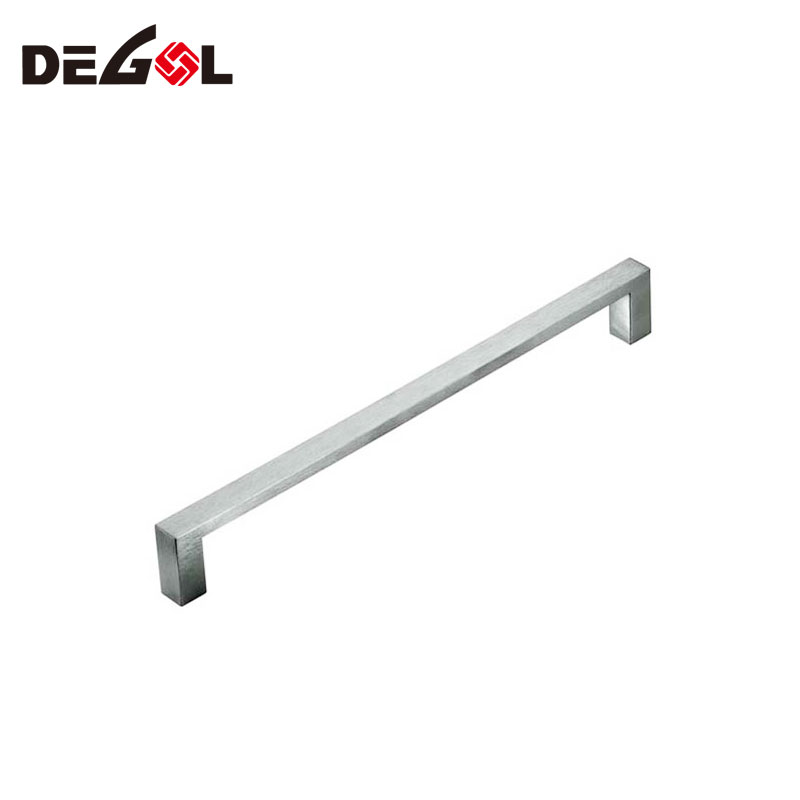 Luxury Europe Durable Stainless Steel Kitchen Wholesale Satin Nickel Cabinet Handle Pull