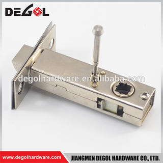 Bathroom Passage Door Key Lock Cylinder Mortise Brass 60mm With Latch Bolt