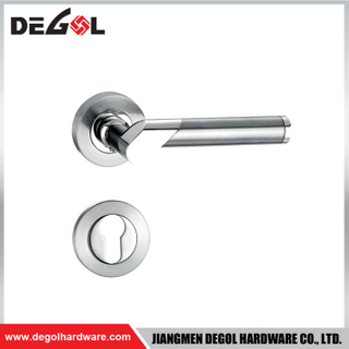 Hot Sell Tubular Zinc Alloy Lever Door Handle