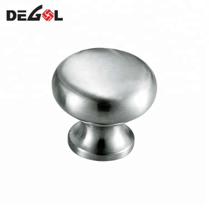 European stainless steel furniture mushroom cabinet knob and pulls