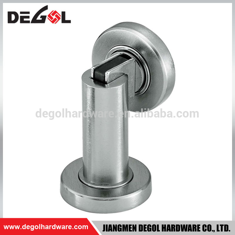 Hot sale fancy draft magnetic catch cast stainless steel decorative door stopper