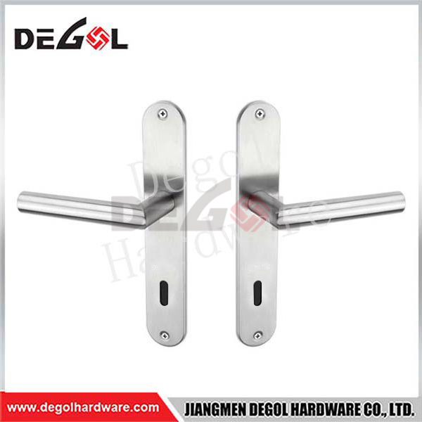 Wholesale EN1906 Simple Modern External Door Handle On Plate