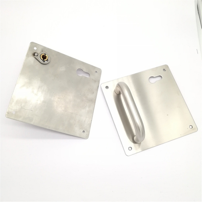 Good Selling Bathroom 304# Stainless Steel Door Handle Sets