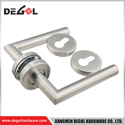 Factory Supplying Front 2 Inch Backset Door With Lock Handle