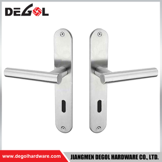 BP1019 Hot Sale Modern Cheap Interior Door Handles on Plate