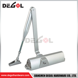 DCL1002 Bearing Weight:45-120 KG Aluminum Door Closer Commercial