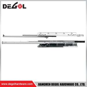 High quality smooth full extension ball bearing telescopic drawer channel