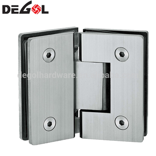 Hot sale stainless steel 135 degree glass to glass shower heavy duty glass door hinge