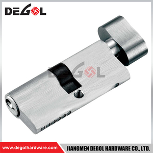 CY1005 60/65/70/75/80MM Brass Double Single Cylinder Metal Door Lock