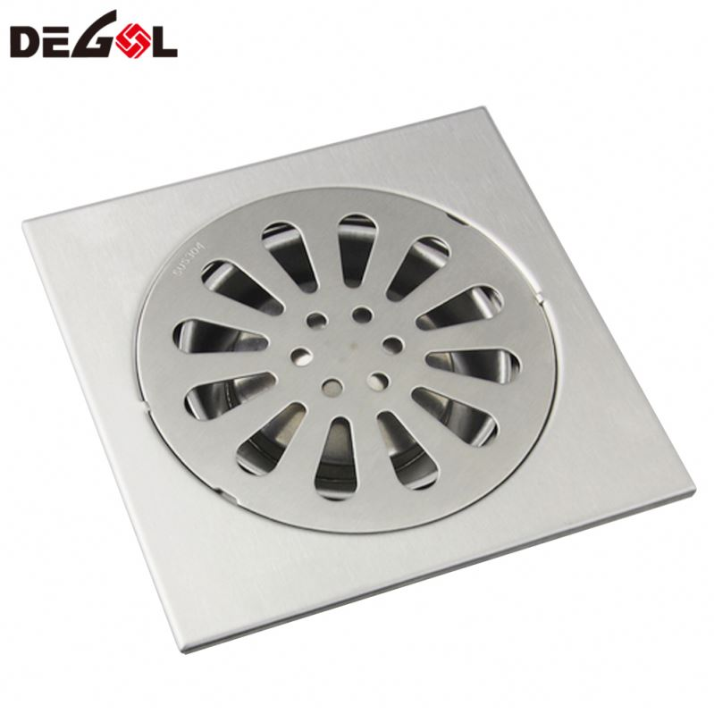 Floor Drain Shower Square Bathroom Cover