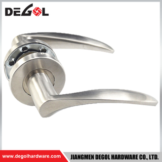 LH1072 Stainless Steel Heavy Duty Solid Lever Type Self Locking Door Handle