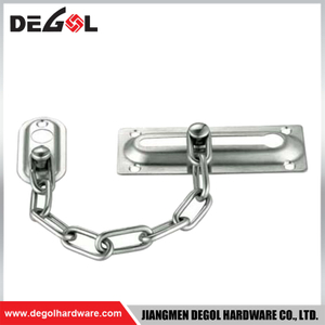 DC1007 High Quality Metal Ball Satin Door Chain
