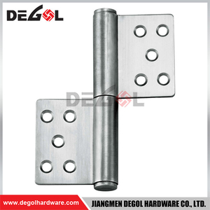 DH1007 Adjustable Heavy Duty Stainless Steel Welding Door Closer Flag Hinge