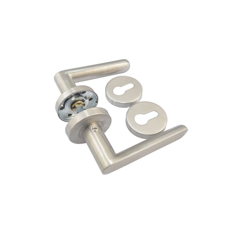 Manufacturers in china stainless steel U shape tube door lever interior mortise handles 2.5usd