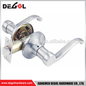 New Modern north american tubular lever door handle lock