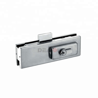 Best quality bathroom lock patch fitting for frameless glass door