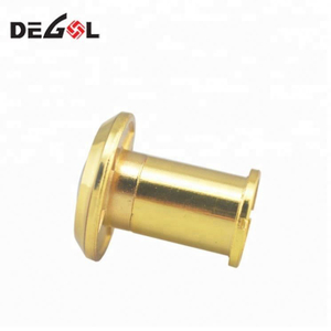 China suppliers Brass 200 Degree wide angle with glass lens door viewer