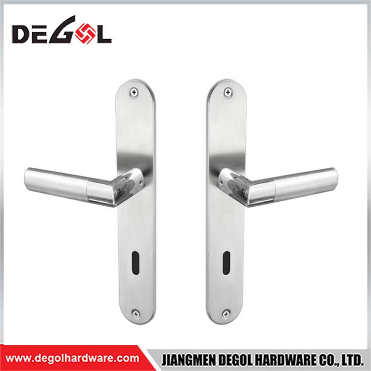 Factory Direct Tap Easy Door Handle On Plate