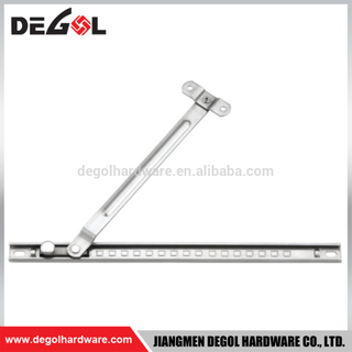 Aluminum window accessory stainless steel window stay and fasteners