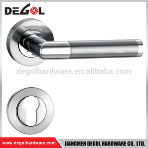 High Quality 135mm Long Wood Door Zinc Alloy Single Side Door Handle