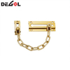 Chain link guard lock door curtain stopper decorative chain door chain bolt brass