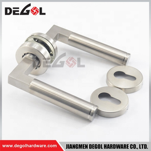 Beautiful European style stainless steel ss door handle lock escutcheons