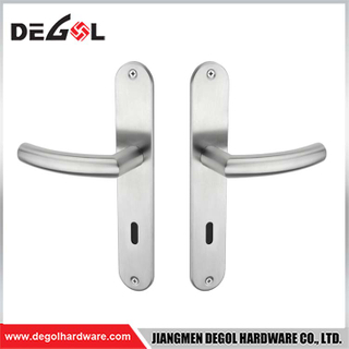 BP1020 Latest Design And Push Pull Door Handle With Plate