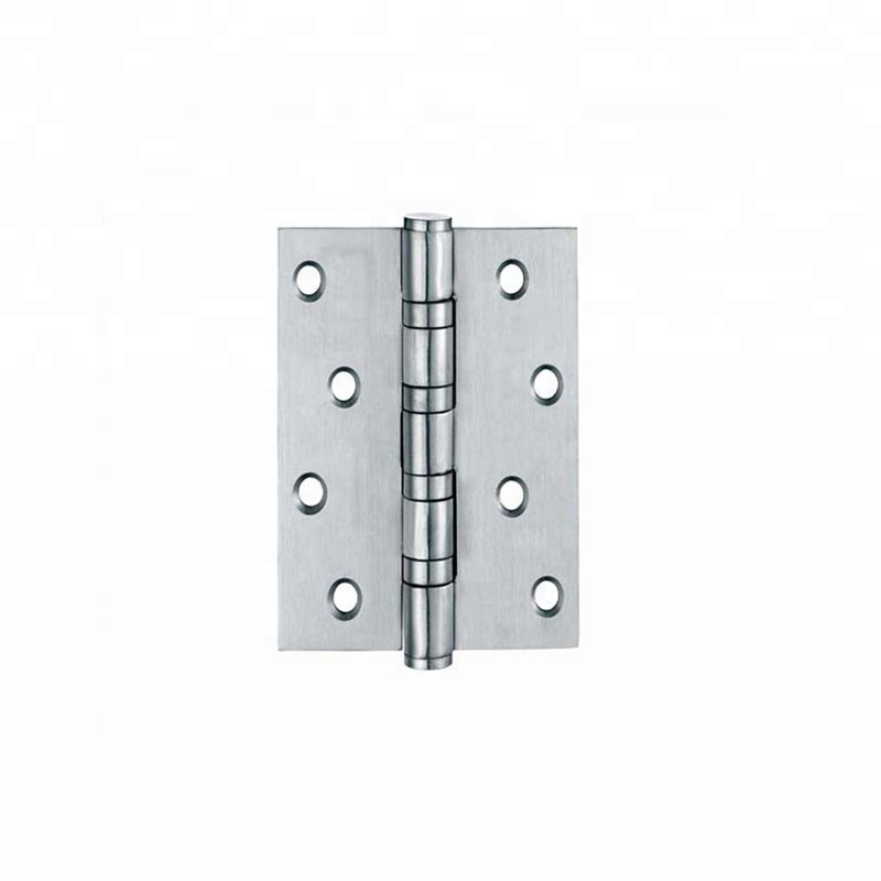 Heavy duty stainless steel crank metal door hinge