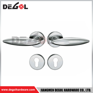 LH1033 stainless steel solid lever door handle