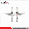 China manufacturer stainless steel solid lever type chrome plated door handle