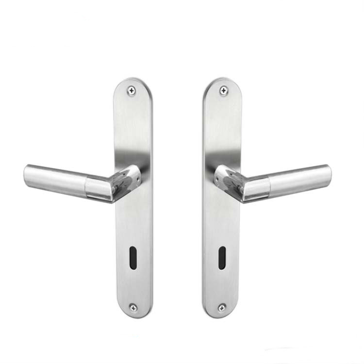 New Arrival Brass Door Handle With Backplate Covers