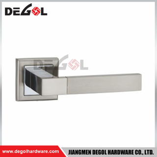 LH1042 Zinc Alloy Door Handle For Steel door