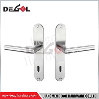 BP1013 Wholesale New Model Door Handle On Gold Plate
