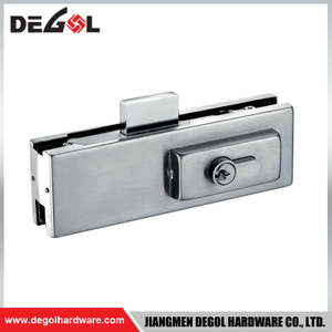 GD1001 Stainless steel glass door lock patch fitting bottom lock patch