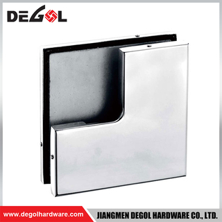 Favourable stainless steel glass door patch fitting price